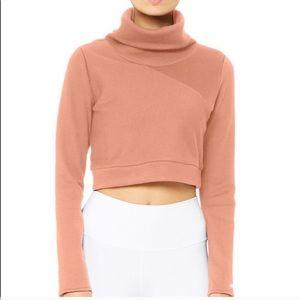 Alo Yoga Soleil Cropped Sweatshirt S
